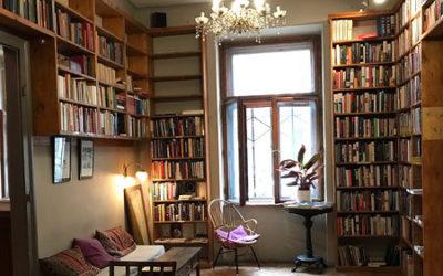Massolit book café in Budapest