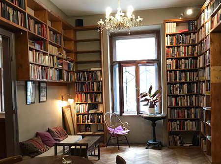 Where time stops and full immersion into culture starts: Massolit book café in Budapest.